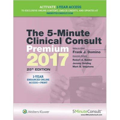 The 5-Minute Clinical Consult 2017, Premium (AMAZON)