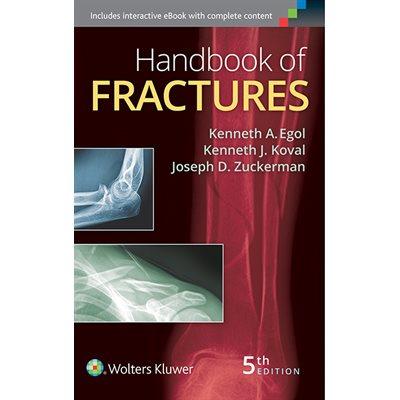 Handbook of Fractures, 5th Ed. (AMAZON)