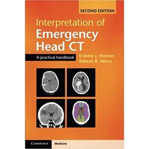 Interpretation of Emergency Head CT: A Practical Handbook 2nd Edition (AMAZON)