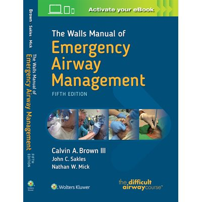 The Walls Manual of Emergency Airway Management (AMAZON)