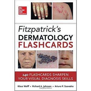 Fitzpatrick's Dermatology Flash Cards (AMAZON)