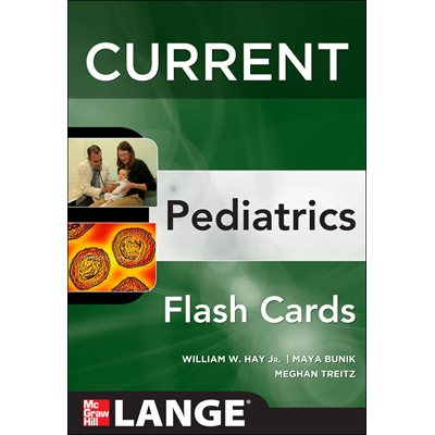 CURRENT Pediatrics Flashcards (AMAZON)