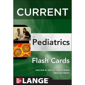CURRENT Pediatrics Flashcards (AMAZON)