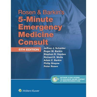 Rosen and Barkin's 5 Min EM Consult, 5E (AMAZON)