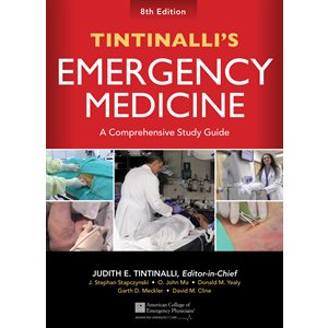 Tintinalli's Emergency Medicine: A Comprehensive Study Guide, 8th edition (AMAZON)