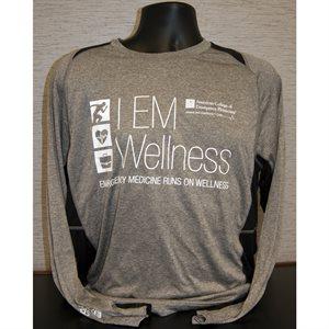 """Mens """"Wellness"""" Long Sleeve T-Shirt"""