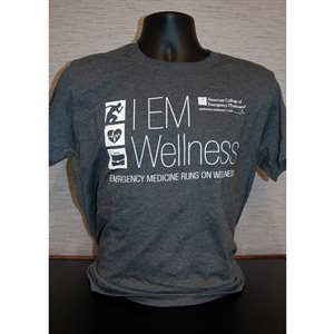 """Mens """"Wellness"""" T-Shirt"""